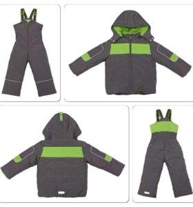 Комплект: Куртка, полукомбинезон. Зима