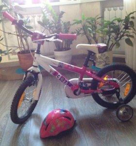 Детский велосипед Scott Junior 16
