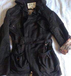 Куртка-плащ .рукав полный или 3/4
