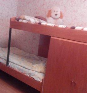 Двух-ярусная кровать трансформер