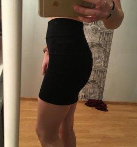 Новая юбка на высокой талии