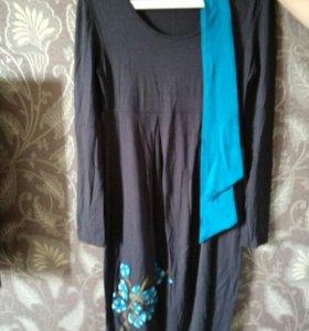 Платье для беременных. дизайнерское.