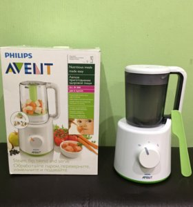 Philips-Avent . Пароварка-блендер 2в1., б/у.