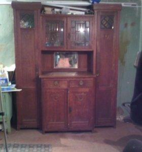 Антиквариат посудный шкаф Г Астрахань