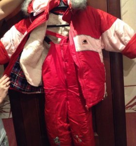 зимний Комбинезон куртка !