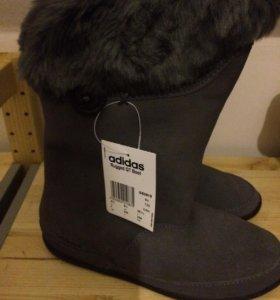 Новые осенние сапоги adidas