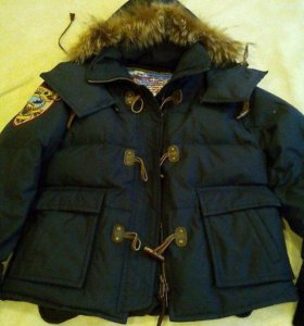 Куртка пуховик 48-50.