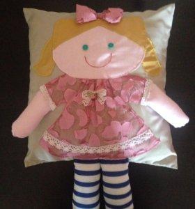 Подушки-куколки, сувенир, подарок