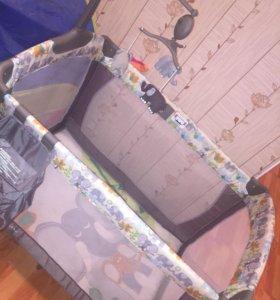 Манеж -кроватка baby care fantasy