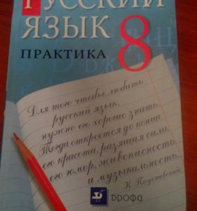 Практика русский язык 8 класс