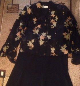 ✅✅✅ Костюм женский ( юбка и блуза)