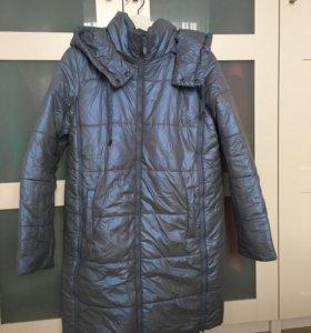 Зимняя куртка для беременных 44 р-р