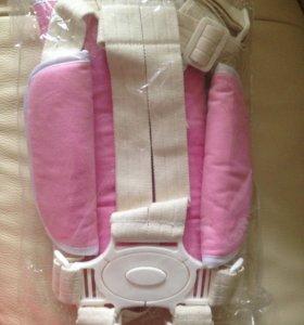 Новые ремни безопасности с накладками и без