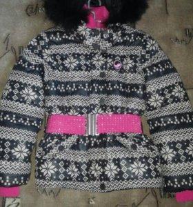 Куртка демисезонная для девочки 11~12лет