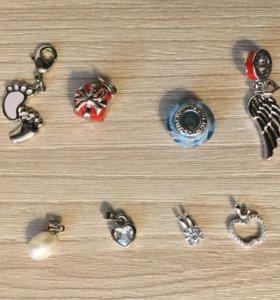 Серебряные Подвески , браслеты SUNLIGHT