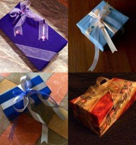 Упаковка подарков/конверты ручной работы