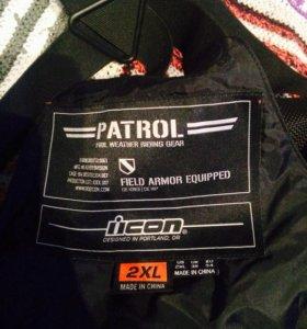 Мотоштаны 2xl icon patrol
