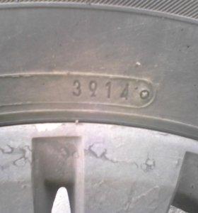 Колеса р15 4.114.3 данлоп 4шт