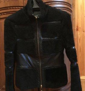 Куртка кожа и мутон