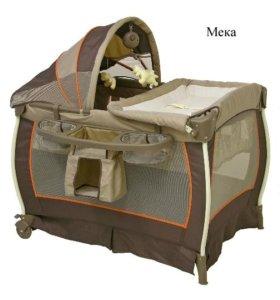 Baby Trend Delux манеж-кровать