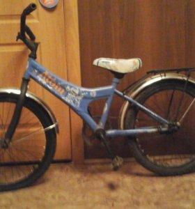Детский велосипед с 4-7лет