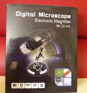 Цифровой микроскоп х500