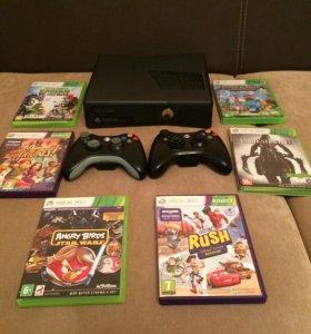 Xbox 360  500гб, Kinect в комплекте