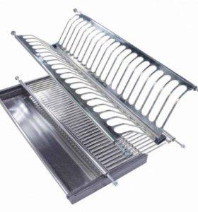 Сушилка для посуды, нержавеющая сталь в шкаф 600мм