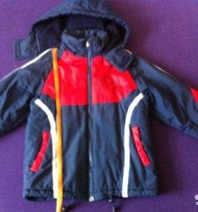 Куртка теплая 8-10 лет