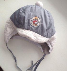 Зимние шапки р.46-48