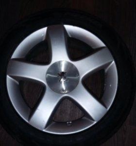Литые диски Peugeot/Citroen