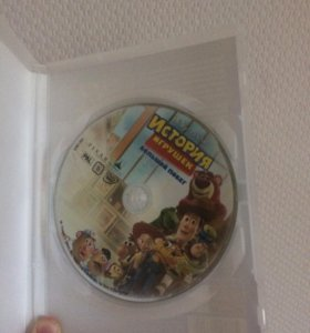 Диск DVD- История игрушек