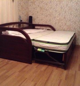 Кровать раскладная Скай из массива бука