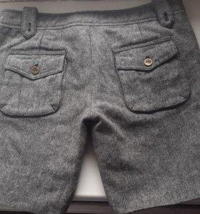 Тёплые шорты и джинсовые