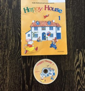 Учебник Happy House 1 +CD