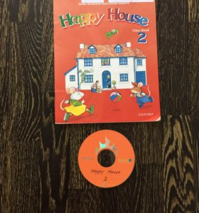 Учебник Happy House 2+CD
