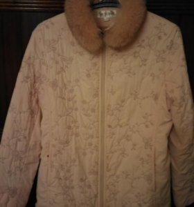 Курточка осенняя р.48