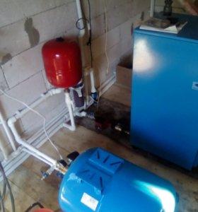 Отпление водоснабжение