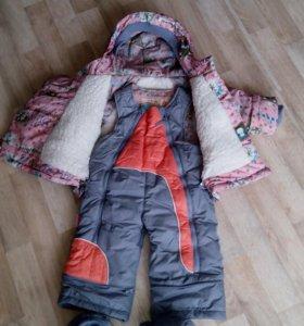 Зимний комбинезон - трансформер детский