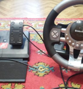 Игровой руль + педали Defender