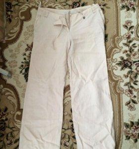 Льняные брюки бу женские
