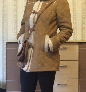 Пальто полушубок Vero Moda