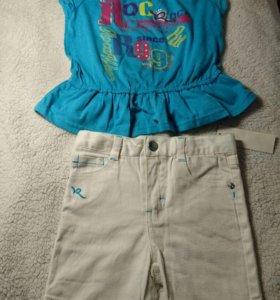 Майка + шорты для девочки