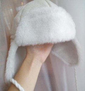 Шапка на теплую зиму р-р50
