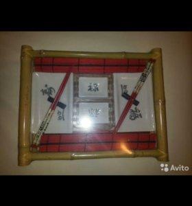 Подарочный набор для суши/роллов на 2 персоны