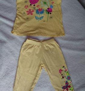 Маечка + штанишки для девочки