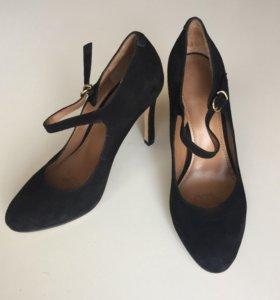 Туфли замшевые Mascotte новые