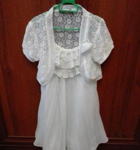 Платье для девочки рост 122 128