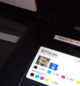 Мфу  Epson stylus SX 125