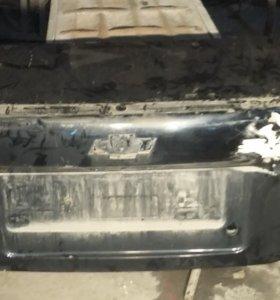 Шевроле Авео (т250) седан крышка багажника
